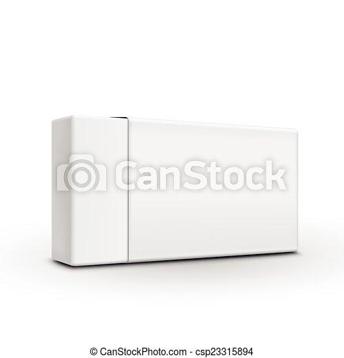 Una plantilla de papel en blanco - csp23315894
