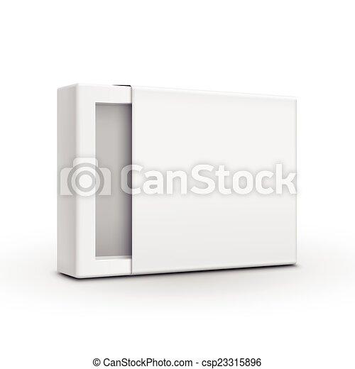Una plantilla de papel en blanco - csp23315896