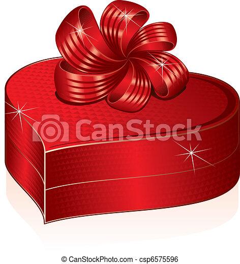 Una caja de regalos - csp6575596
