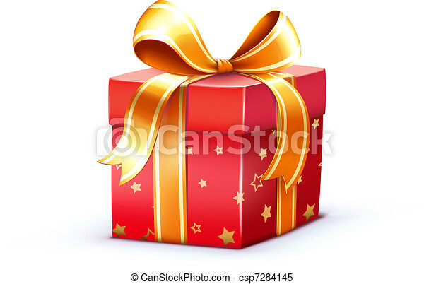 Caja de regalos - csp7284145