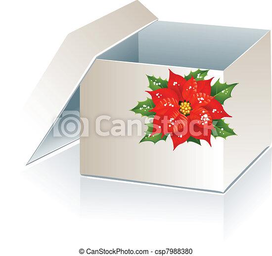 Caja de regalos de Navidad - csp7988380