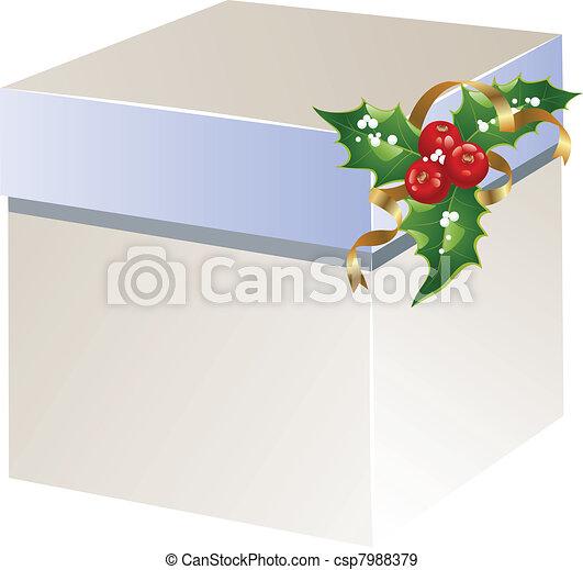 Caja de regalos de Navidad - csp7988379