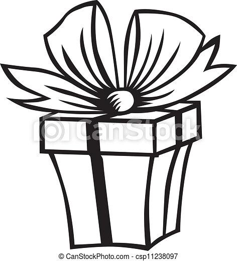 Caja de regalos - csp11238097