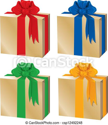 Caja de regalos - csp12492248