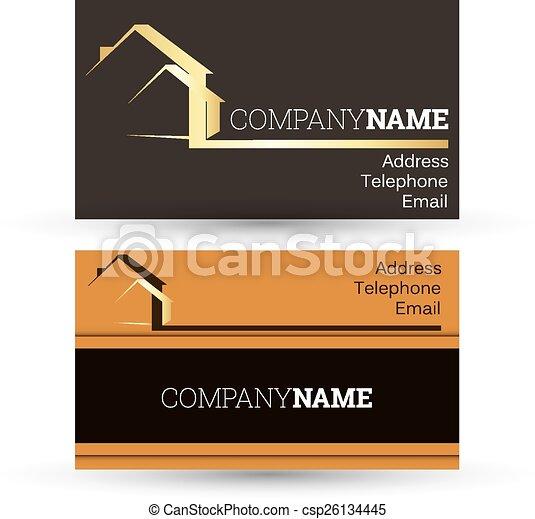 Tarjetas de negocios - csp26134445