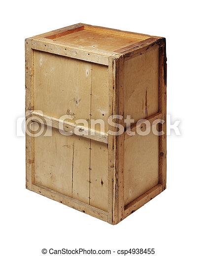 Una caja vieja - csp4938455