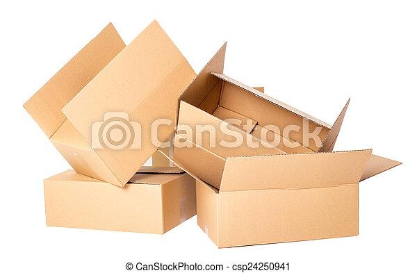 Cajas de cartón - csp24250941
