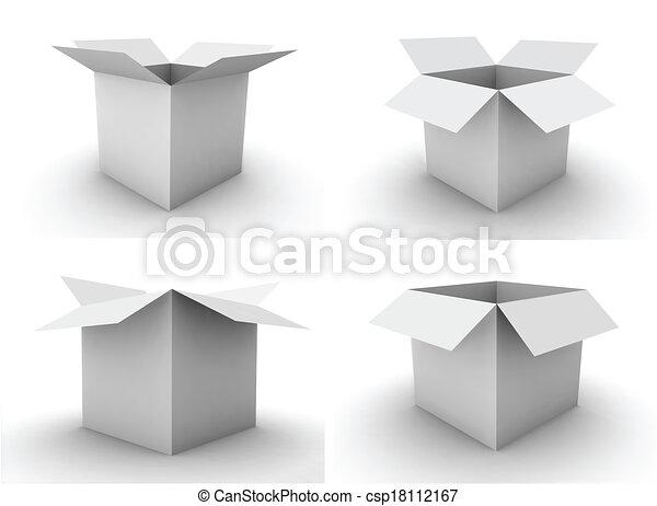 Cajas - csp18112167