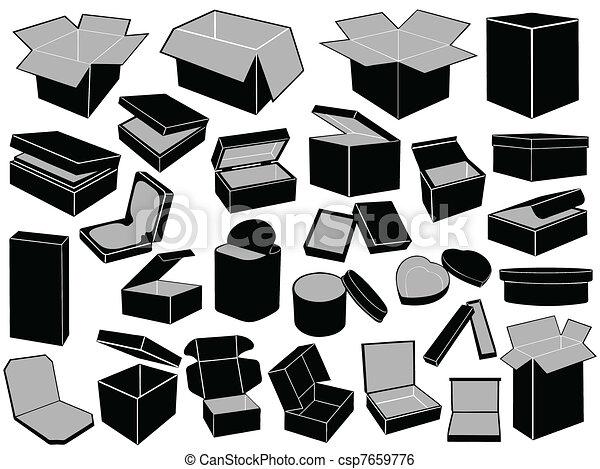 Cajas - csp7659776