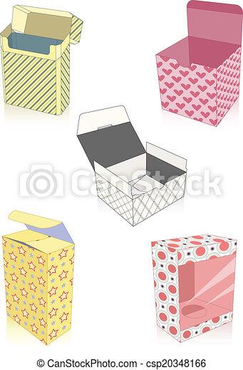 Un par de cajas - csp20348166