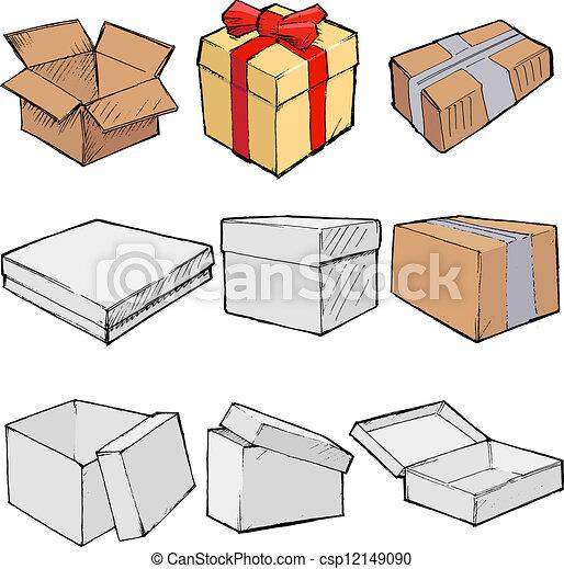 Cajas - csp12149090
