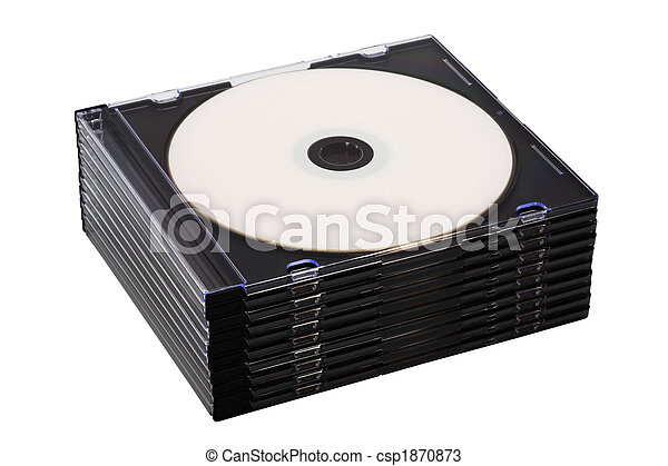 Disk cd en cajas - csp1870873