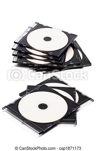 Pon un CD en cajas - csp1871173
