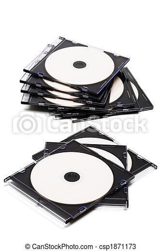 Disk cd en cajas - csp1871173