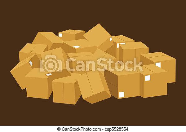Cajas - csp5528554