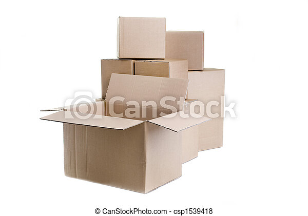 Cajas de mudanza - csp1539418