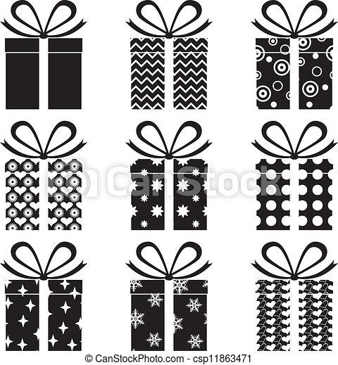 Cajas de regalos - csp11863471
