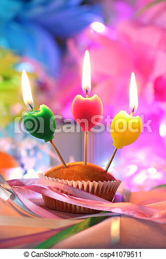 Pleasant Cake Candle Celebration Celebratory Cake With Candles In Personalised Birthday Cards Cominlily Jamesorg