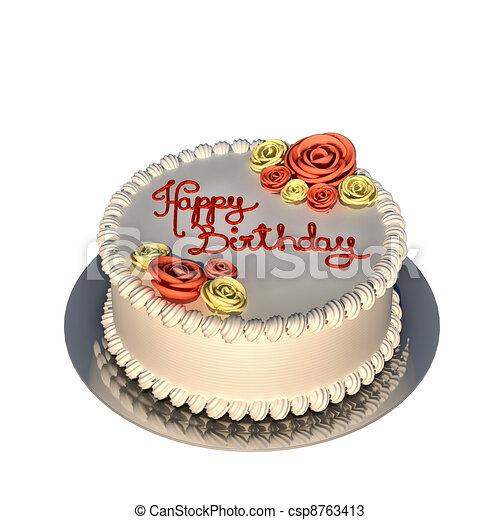 Phenomenal Cake Illustration Happy Birthday For Web Design Funny Birthday Cards Online Amentibdeldamsfinfo