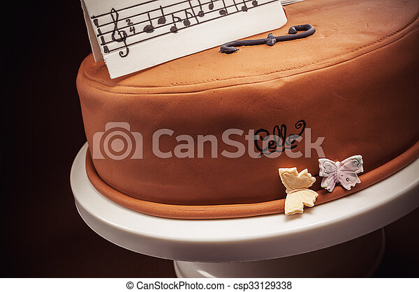 Superb Cake In Shape Of Piano And Cello Birthday Cake Decorated With Funny Birthday Cards Online Aeocydamsfinfo