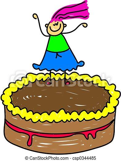 cake kid - csp0344485