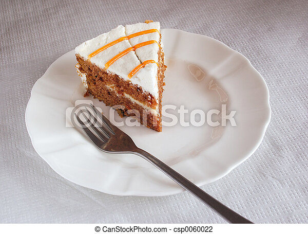 cake on a plate - csp0060022