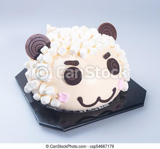 Miraculous Cake Or Sheep Birthday Cake On A Background Cake Or Sheep Funny Birthday Cards Online Benoljebrpdamsfinfo