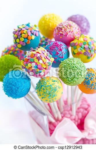 Cake pops - csp12912943