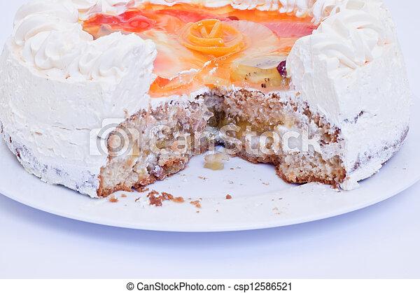 Cake - csp12586521