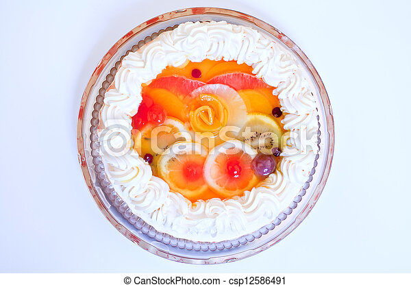 Cake - csp12586491