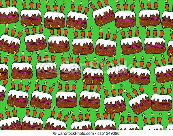 cake wallpaper - csp1349098