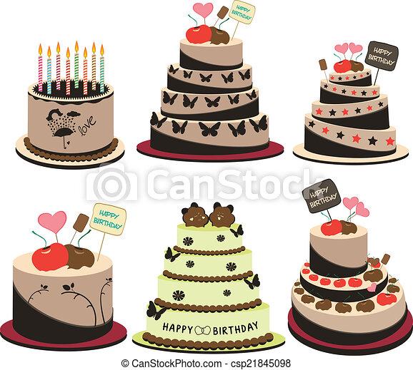 cakes - csp21845098