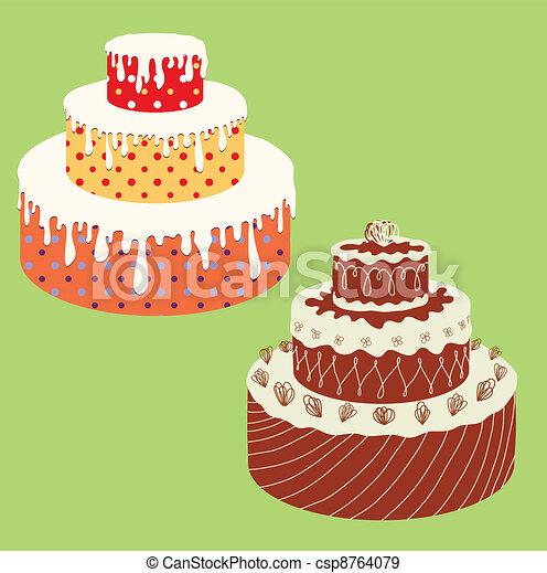 Cakes - csp8764079
