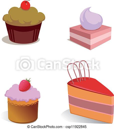 Cakes - csp11922845