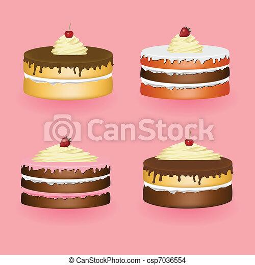 cakes - csp7036554
