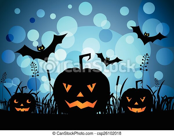 Calabazas de Halloween - csp26102018