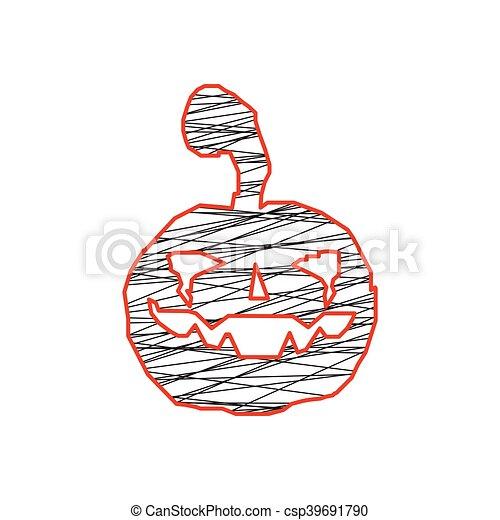 Calabazas de Halloween - csp39691790