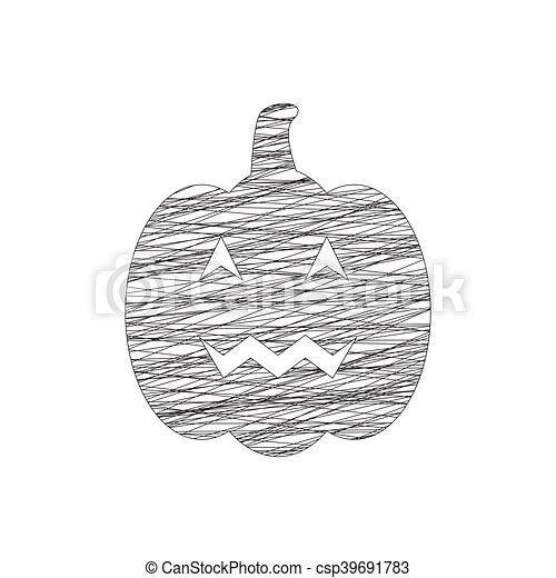 Calabazas de Halloween - csp39691783