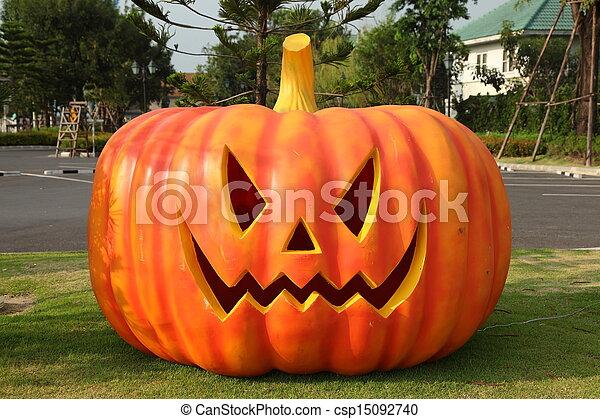 Calabazas de Halloween - csp15092740