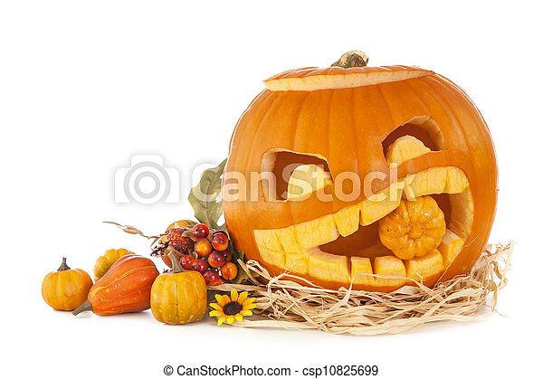 calabazas de Halloween - csp10825699