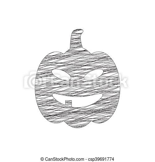 Calabazas de Halloween - csp39691774