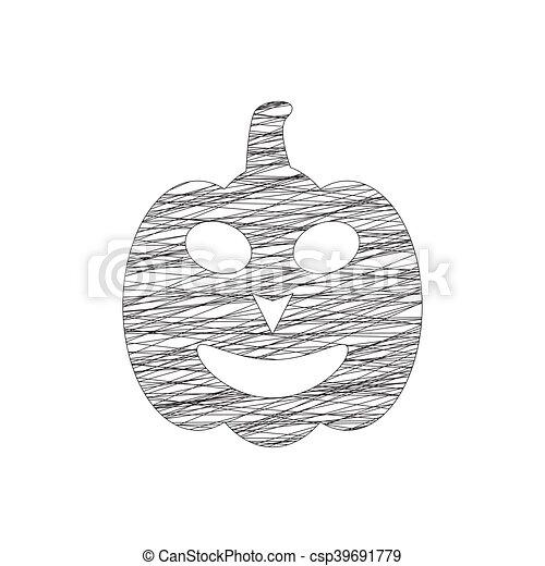 Calabazas de Halloween - csp39691779