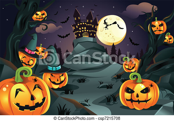 Calabazas de Halloween - csp7215708