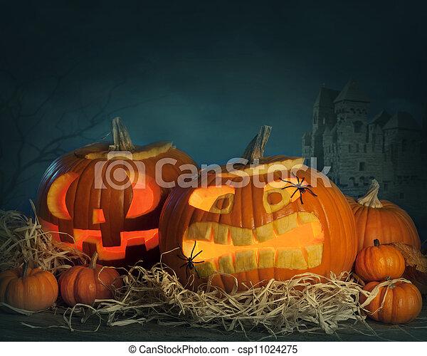 calabazas de Halloween - csp11024275