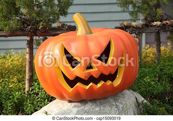 Calabazas de Halloween - csp15093019