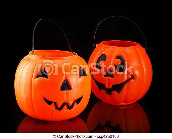 calabazas de Halloween - csp4250188