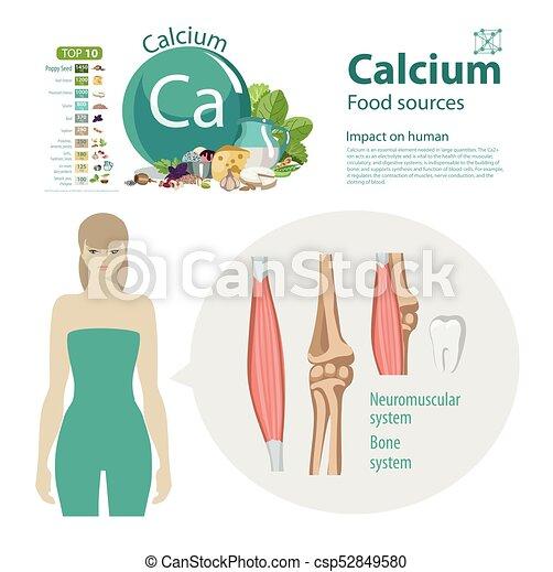 Calcium - csp52849580