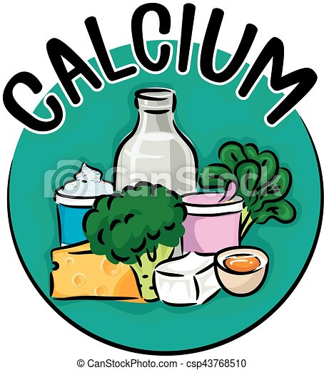 calcium clipart food rich icon types illustration drawing different foods vector drinks clip fruits featuring vegetables fruit drawings iron non