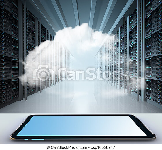 calcolare, nuvola, concetto - csp10528747