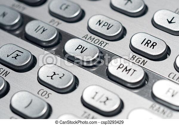 Calculadora financiera avanzada - csp3293429